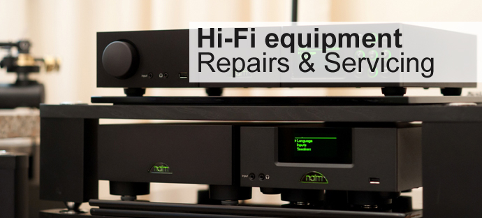 hi separates CD players amplifier repairs and servicing
